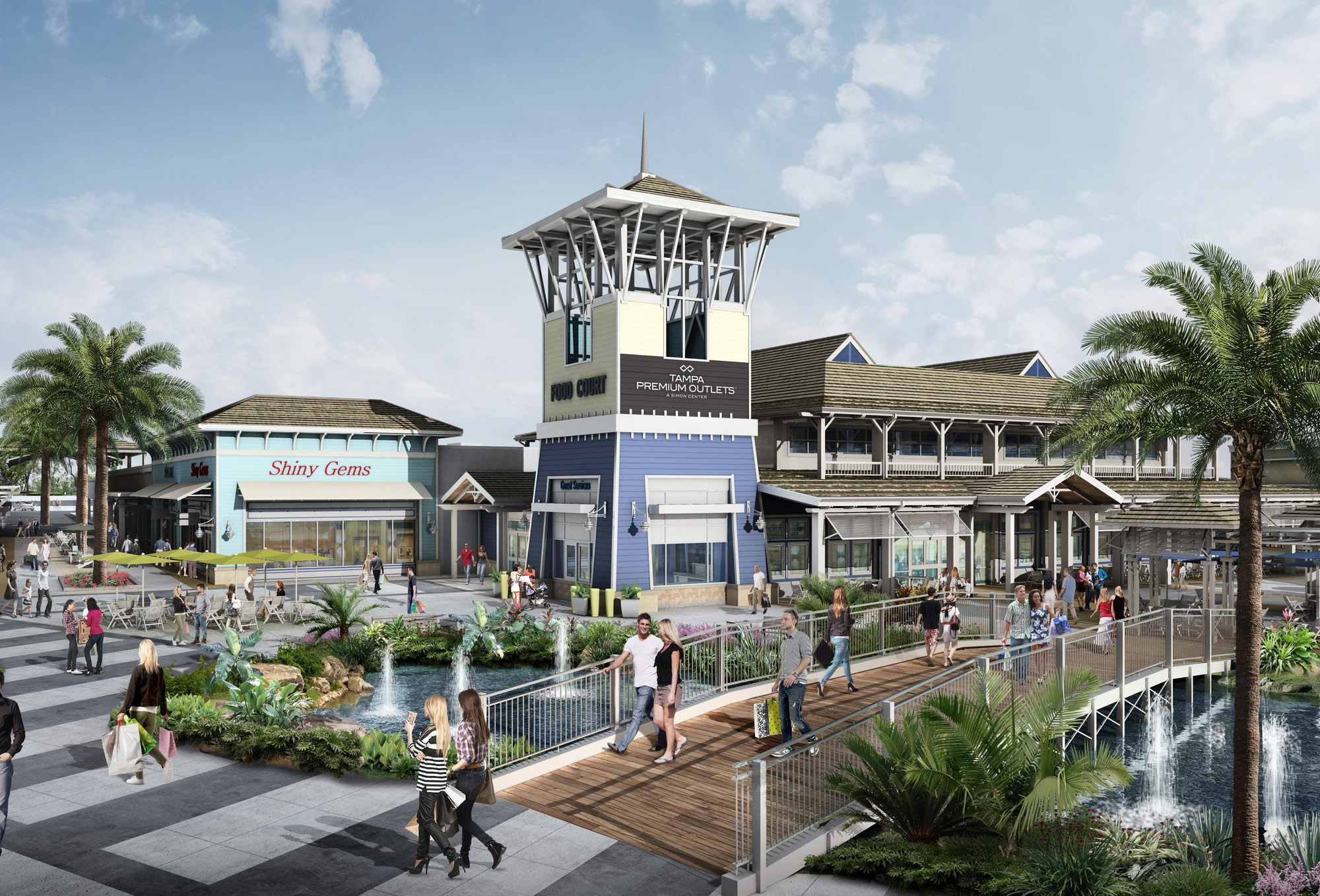 Wesley Chapel outlet mall plans to open in October